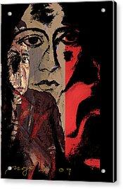 Suicide Note Acrylic Print by Noredin Morgan