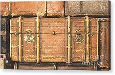 Suitcases  Acrylic Print