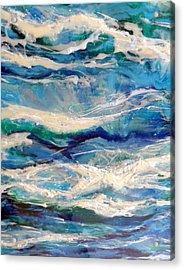Suite Madam Blue 2 Acrylic Print by Jane Biven