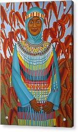 Sulawesi Girl Acrylic Print by Brian Leverton