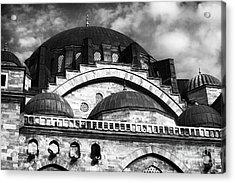 Suleymaniye  Acrylic Print by John Rizzuto