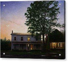 Acrylic Print featuring the painting Sullivan Street by Wayne Daniels