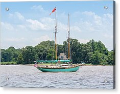 Acrylic Print featuring the photograph Sultana On The Chester by Charles Kraus