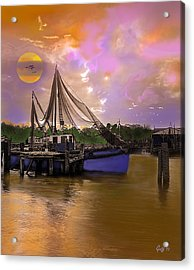 Sultry Bayou Acrylic Print by J Griff Griffin