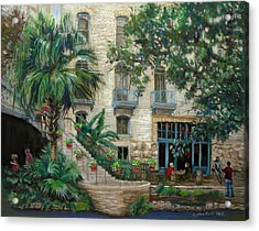 Sultry San Antonio Acrylic Print by Carole Haslock