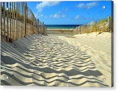 Sultry September Beach Acrylic Print