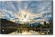 Sumer Solstice Sunrise Acrylic Print