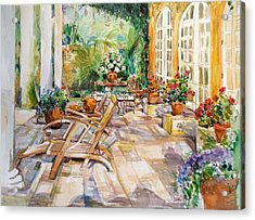 Summer 1 Acrylic Print by Becky Kim