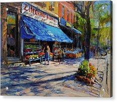 Summer Afternoon, Columbus Avenue Acrylic Print