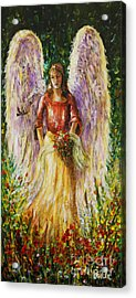 Summer Angel Acrylic Print