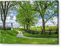 Acrylic Print featuring the photograph Summer At Antietam National Battlefield by Lori Coleman