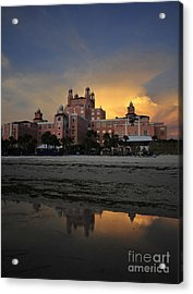 Summer At The Don Acrylic Print by David Lee Thompson