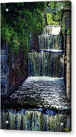 Acrylic Print featuring the photograph Summer At The Five Combines by Kendall McKernon