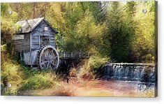 Summer At The Mill Acrylic Print