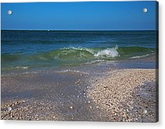 Acrylic Print featuring the photograph Summer At The Shore by Michiale Schneider