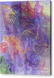 Summer Awakes Acrylic Print by John Robert Beck