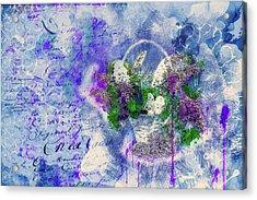 Summer Background Acrylic Print