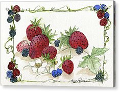 Summer Berries Acrylic Print