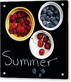 Summer Berries Acrylic Print