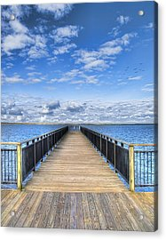 Summer Bliss Acrylic Print by Tammy Wetzel