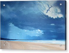 Summer Blues Acrylic Print by Paul Newcastle