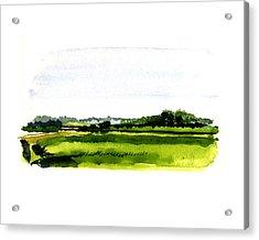 Summer Bog At Marstons Mills Acrylic Print