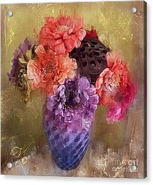 Summer Bouquet Acrylic Print by Alexis Rotella