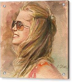 Summer Breeze Acrylic Print
