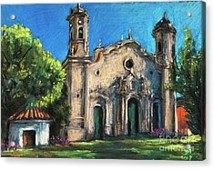 Summer Church Acrylic Print