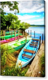 Summer Colors Acrylic Print by Debra and Dave Vanderlaan
