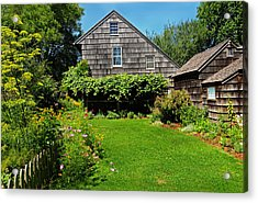 Summer Cottage Acrylic Print by JoAnn Lense