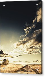 Summer Country Backroad Acrylic Print by Jorgo Photography - Wall Art Gallery