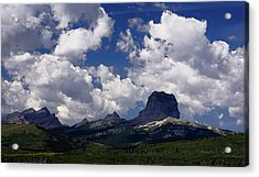 Summer Day At Chief Mountain Acrylic Print