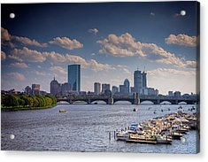 Summer Day On The Charles River Acrylic Print