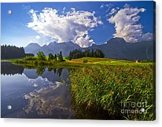 Summer Day Acrylic Print by Sabine Jacobs