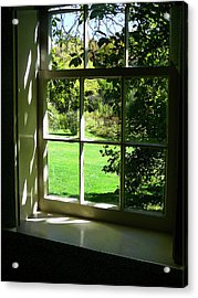 Summer Day Through The Window Acrylic Print