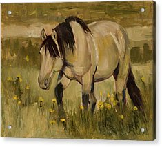 Acrylic Print featuring the painting Summer Days by Billie Colson