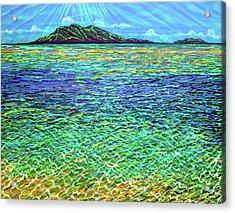 Summer Acrylic Print by Debbie Chamberlin