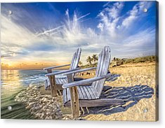 Summer Dreaming Acrylic Print by Debra and Dave Vanderlaan