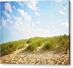 Acrylic Print featuring the photograph Summer Dunes by Melanie Alexandra Price