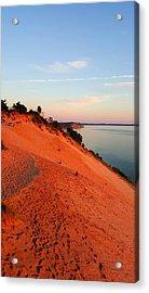 Summer Evening At Sleeping Bear Dunes Acrylic Print by William Slider
