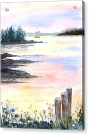Summer Evening Acrylic Print