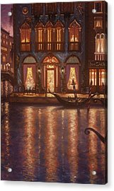 Summer Evening In Venice Acrylic Print by Scott Jones