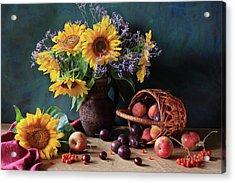 Summer Exuberance Acrylic Print by Panga Natalie Ukraine