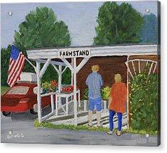 Summer Farm Stand Acrylic Print