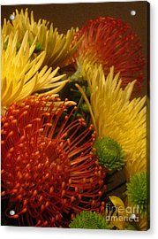 Acrylic Print featuring the photograph Summer Floral by Robert D McBain