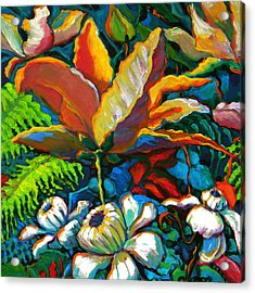 Summer Florals Acrylic Print by Jeanette Jarmon