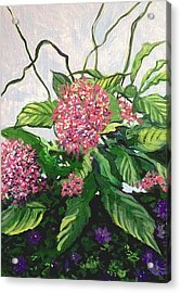 Summer Flowers 2 Acrylic Print