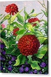 Summer Flowers 3 Acrylic Print