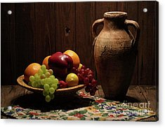Summer Fruit Acrylic Print by Dodie Ulery